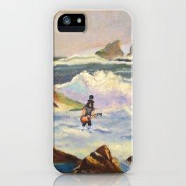 S l a s h  in the ocean iPhone Case