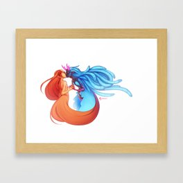 Wrath and Envy Framed Art Print