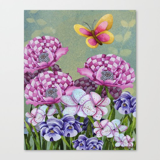 Fanciful Garden Canvas Print