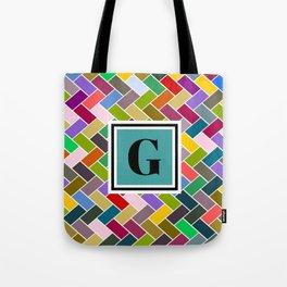 G Monogram Tote Bag