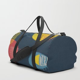 Colour and pattern - Abstract 1 Duffle Bag