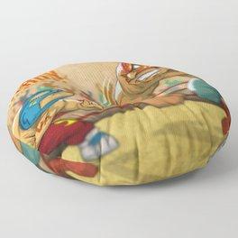 BATTLE AND DESTROY Floor Pillow