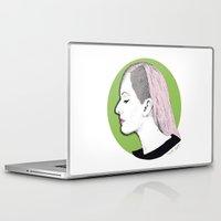 ellie goulding Laptop & iPad Skins featuring Ellie by Iiris Ella