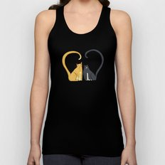Love Cats Unisex Tank Top