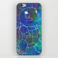 squirtle iPhone & iPod Skins featuring Squirtle by pkarnold + The Cult Print Shop