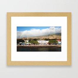 The Royal Capital Framed Art Print