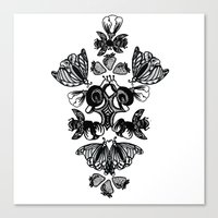 insects Canvas Prints featuring Insects by Sierra Neale
