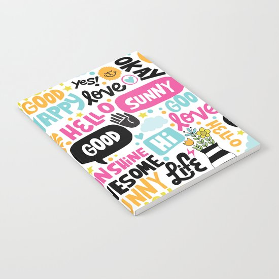 Sunshine & happiness Notebook