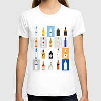 bar T-shirts featuring Open Bar by Liz Slome