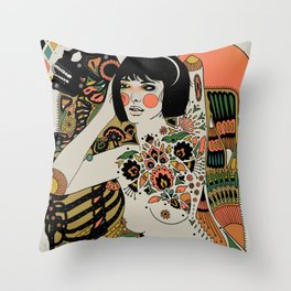 You've Been There All Along Throw Pillow