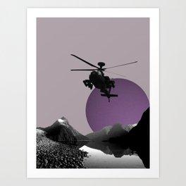 Apache Lake Art Print