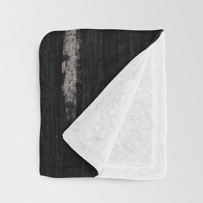 White Grunge American flag Decke