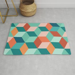 Abstract Geometric Pattern 03 Rug