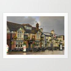 Poole Pubs Art Print