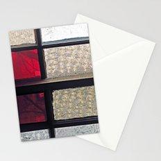 Window Glass Stationery Cards