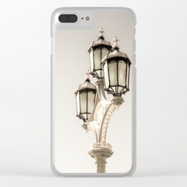 Three Crowns Clear iPhone Case