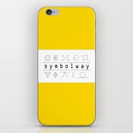 SYMBOLWAY iPhone Skin