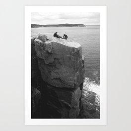 Us, Otter Cliffs Art Print