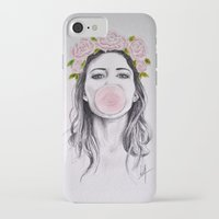 bubble iPhone & iPod Cases featuring Bubble by Libby Watkins Illustration