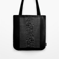 cats Tote Bags featuring Furr Division Cats by Tobe Fonseca