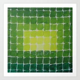 Quadratologo / Acrylic Painting Art Print