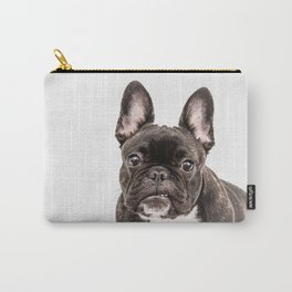 French bulldog portrait Carry-All Pouch
