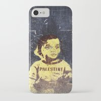 palestine iPhone & iPod Cases featuring PALESTINE by Martin Llado