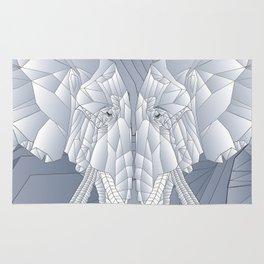 Stone Elephant Rug