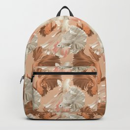 Tan Pisces Backpack