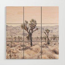 Joshua Tree Wood Wall Art
