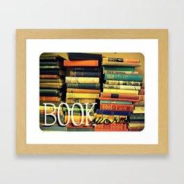 Book Worm Framed Art Print