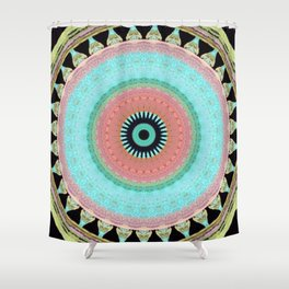 Internal Totem inverse Shower Curtain