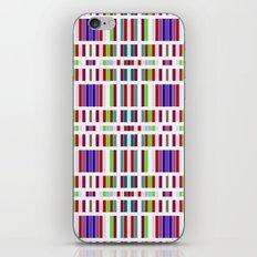 Retro Bar Pattern iPhone & iPod Skin