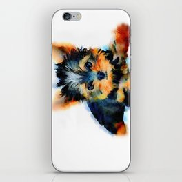 Yorki Pup iPhone Skin