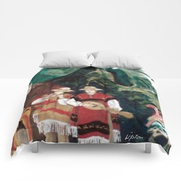 The ANDES             by Kay Lipton Comforters