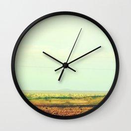 Astract Modern Desert Photograhy Wall Clock