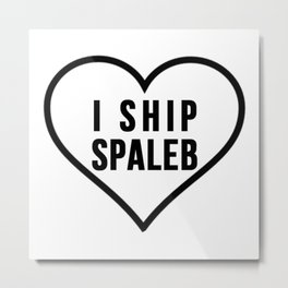SPALEB Metal Print
