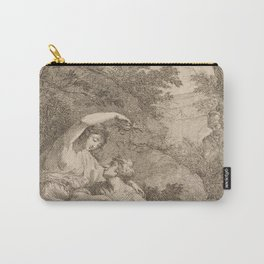 Armida Crowning Rinaldo with Flowers, 1771 Carry-All Pouch