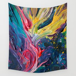 Bird Flower Wall Tapestry