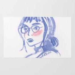 A Geek Girl Rug