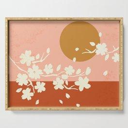 Sakura Blossom Bliss Serving Tray