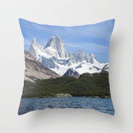 Fitz Roy Throw Pillow
