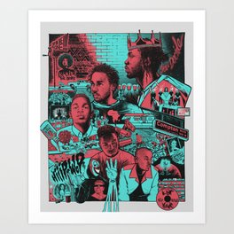 K Dot - The Story Art Print