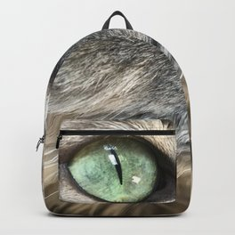 Bella With Green Eyes Backpack