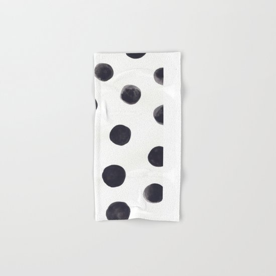 Watercolour Dots Hand & Bath Towel