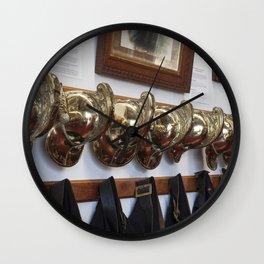 Fire men Wall Clock