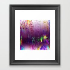 A Purple Haze Framed Art Print