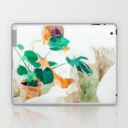 Me + Monstera #painting #minimal Laptop & iPad Skin
