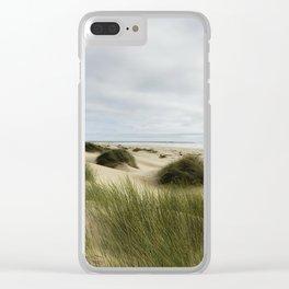 Peaceable Shore Clear iPhone Case