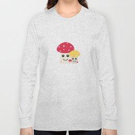 Cute colorful mushrooms Long Sleeve T-shirt